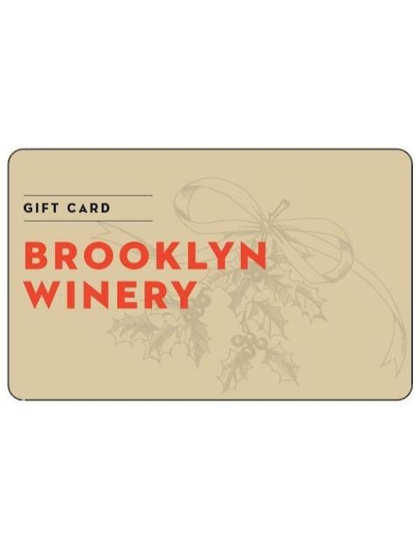 Brooklyn Winery Gift Card